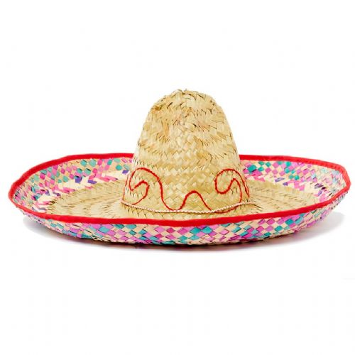 Hat: Mexican Sombrero Hat.